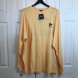 Nautica US-1 NWT Yellow L/S Shirt Mens sz XXL
